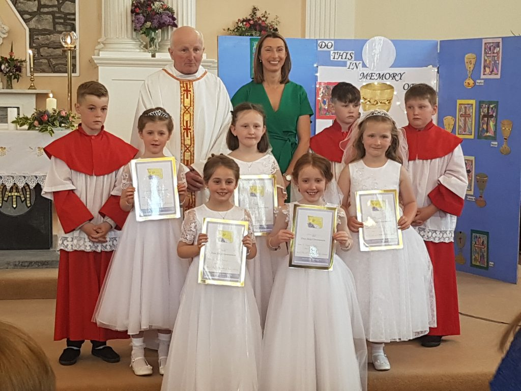 First Communion Class 2018 – 2019