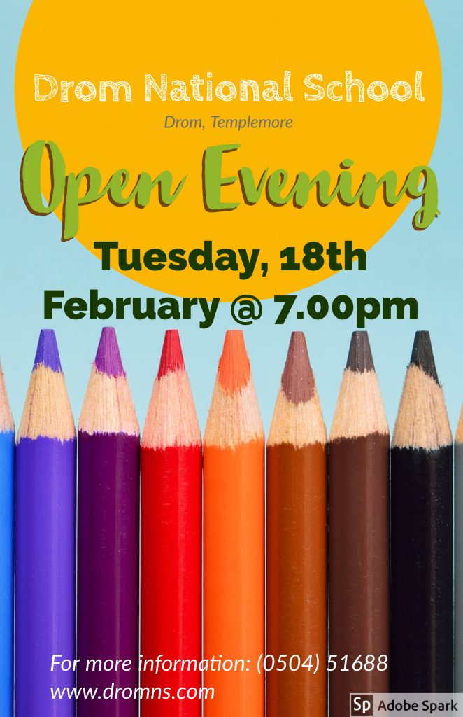 Open Evening Poster